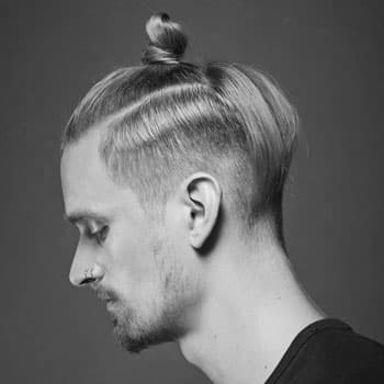 Стрижка «Haircut «Top knot» in Oldboy Barbershop