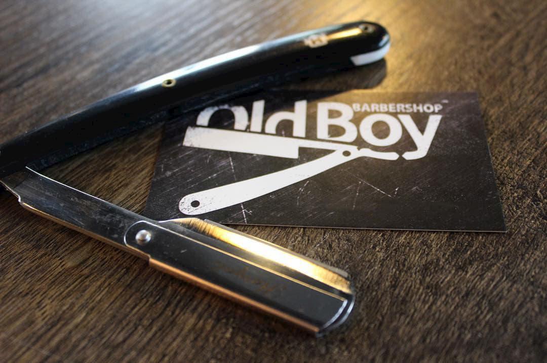 Dangerous Shaving - OldBoy Razor Logo